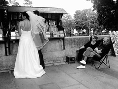 105811 (CHEN_Zheng) Tags: street wedding bw paris france love seine french couple married streetphoto lover ruili