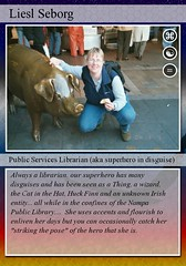 Librarian trading-card (Lippy Librarian) Tags: cards trading librarian lippy