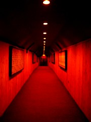 redruM (radioher) Tags: red black carpet lights hotel hall rojo negro hell perspective tunnel explore horror terror murder perspectiva tunel pasillo redcarpet frightening theshining bronly elresplandor exploretop20 redrum|murder welcometotheredcarpet