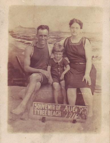 Tybee Beach 1916