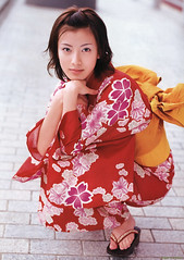 YUKATA  Ai Kato (g2slp) Tags: red summer woman girl japan japanese yukata kimono giappone reddress japanesegirl