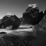 black sand beach thumbnail
