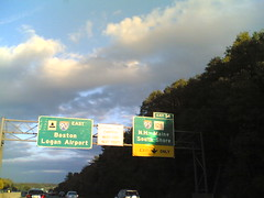 Pike Exit 14, Wednesday 5:22 pm 10/18/06 Weston, Town Of, Massachusetts