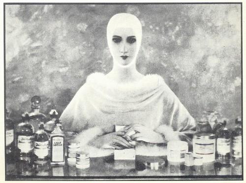 Baron de Meyer, Elizabeth Arden Cosmetics ad, 1932