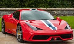 Ferrari.. (ScottishMaryMoo) Tags: ferrari car supercar red motor speed dufftown glenfiddich speyside highlands moray scotland 455 455speciale