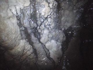 sauna cave salt deposits