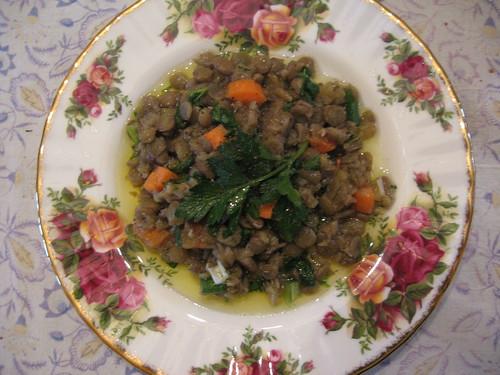 Provencal Lentil Salad