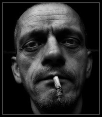 835 Face (Nebojsa Mladjenovic) Tags: light portrait blackandwhite bw black monochrome face digital self lumix eyes noir cigarette negro nb panasonic cb portret nero noire fz50 svetlost mladjenovic bestportraitsaoi mygearandmepremium mygearandmebronze mygearandmesilver