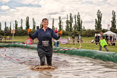 Warrior Dash 2015 (Ren Eriksen) Tags: summer people motion game sports water race speed copenhagen fun denmark jump jumping action fast battle running run racing dirt dash warrior athlete viking sprint danmark kbenhavn followers onslaught valbyparken forhindringslb warriordash mudsweatbeer