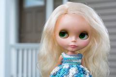Lady Jane (janetsaw) Tags: summer vintage doll dress jane handmade crochet blonde kenner blythe 1972