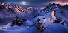 The Endless Search (John. Blakey) Tags: nepal himalayas afterglow 500px mountainsm ifttt