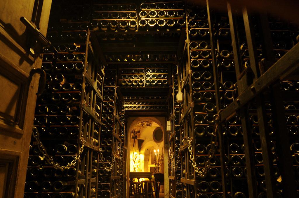 La Tour d'Argent wine cella