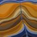 Up Stream, Acrylic, 30x30 cm, $450.00  AUD