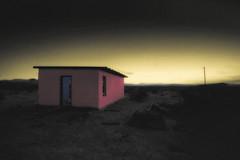 Pink Cabin/Blue Door (East of 29) Tags: wondervalley pinkcabin