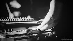Roll Over Beethoven... (jayem.visuals) Tags: blackandwhite musician musicians blackwhite concert keyboard livemusic