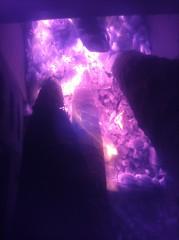 Night Burn (michel_vaillancourt) Tags: night fire rocketmassheater