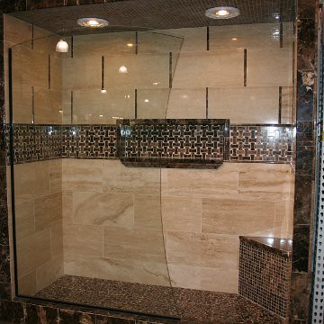custom glass projects dallas bath and glass