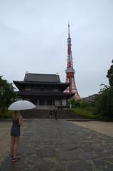 Zojo-Ji and Tokyo Tower