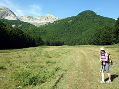 """Edita at the start of the trail • <a style=""""font-size:0.8em;"""" href=""""http://www.flickr.com/photos/41849531@N04/19751320325/"""" target=""""_blank"""">View on Flickr</a>"""
