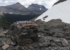 """Bell platform at Piegan Pass • <a style=""""font-size:0.8em;"""" href=""""http://www.flickr.com/photos/63501323@N07/20156739391/"""" target=""""_blank"""">View on Flickr</a>"""