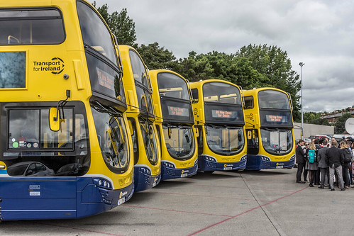 90 NEW BUSES FOR DUBLIN CITY [5 OF THE NEW BUSES] REF-106969