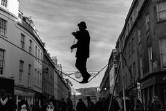 Classical Trapeze (Silver Machine) Tags: bath somerset streetphotography street streetperformers violin violinist trapeze performer music blackwhite bw mono monochrome fujifilm fujifilmxt10 fujinonxf35mmf2rwr