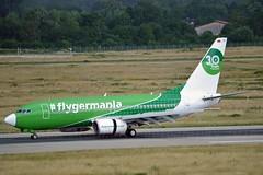 Germania D-AGER Boeing 737-75B Winglets cn/28107-27 30 Years flyGermania c/s @ EDDL / DUS 26-06-2016 (Nabil Molinari Photography) Tags: germania dager boeing 73775b winglets cn2810727 30 years flygermania cs eddl dus 26062016