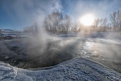 IMGP0586-Edit (Matt_Burt) Tags: cold fog halo ice mist river steam sundog sunrise whitewaterpark