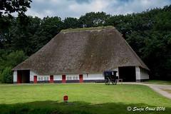 TRADITIONAL BARN (Sonja Ooms) Tags: belgie belgium bokrijk building gebouwen geschiedenis history openairmuseum openluchtmuseum rietendak schuur traditionalbarn