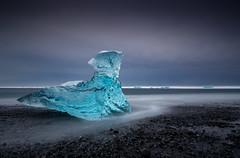Ephemerality (Brunzolini) Tags: iceland ice beach jökulsárlón ocean arctic cold winter growler sky clouds nd10 bigstopper emphemeral fading brunzo lini island südisland sea meer arktisch kalt eisberg eisblock eis