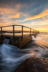 Dee why head pool (anguslovelucas) Tags: sunrise sunset pool exprosure seascape sydney australia beach lanscape geography color