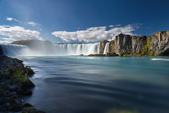 Goðafoss (TeeJay_S) Tags: goðafoss iceland waterfall waterfalls adventure amazing beautiful colorful discover explore getoutside water longexposure leefilters leefilter 10stop nature landscape outdoors outside