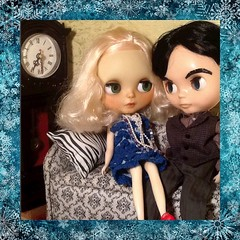 December Blythe-a-Day#10: Naughty or Nice: Jimmy La Rue & Mary Maine Madison