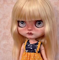 ADOPTED - Kiki (OOAK Blythe doll)
