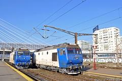 65-1349-3 + 65-0944-2@ Bucuresti Nord (Chirila Alexandru) Tags: egm gm general motors locomotiva diesel electrica electro putere cfr calatori caile ferate romane train trains rail railay