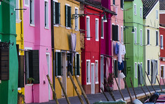 Burano 2 (Fil.ippo) Tags: burano venice venezia color houses filippo filippobianchi d7000 ship boat water acqua isle isola