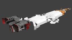 kalash_02 (Sastrei87) Tags: homeworld desertsofkharak wreck salvage space ship