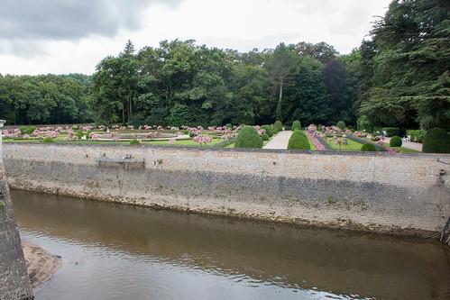 Le Jardin de Catherine de Médicis au Château de Chenonceau