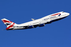 British Airways | Boeing 747-400 | G-BYGB | London Heathrow