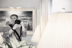 The Photographer in the Mirror (HSS) (WilliamND4) Tags: selfie man hss sliderssunday photographer nikon nikond610