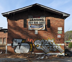 DSC_1620 (rob dunalewicz) Tags: 2017 atlanta abandoned urbex graffiti tags cinco lestr lsd aub