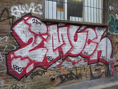 2Much graffiti, Shoreditch (duncan) Tags: graffiti shoreditch streetart 2much