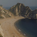 Durdle Door and view east to Lulworth, Dorset, 1972