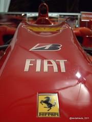Scuderia Ferrari: Ferrari F10 (2010) (Landahlauts) Tags: red rojo bridgestone f1 ferrari f10 potenza formula1 maranello formulauno fernandoalonso kers scuderiaferrari felipemassa rossocorsa redseason shellvpower lucamarmorini aldocosta nicholastombazis rojoferrari rossoscuderia ulg66l2 motortipo056 progetrto661