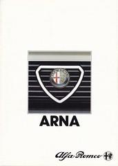 Alfa Romeo Arna brochure 02-1984 (sjoerd.wijsman) Tags: auto cars car arna voiture 1984 alfa romeo vehicle brochure alfaromeo fahrzeug folleto prospekt carbrochure opuscolo brochura broschyr autobrochure 021984 alfaarna alfaromeoarna