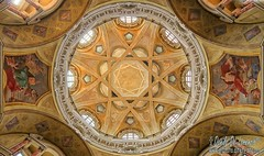 Cupola della Real Chiesa (danilodld) Tags: history torino piemonte storia chiese centristorici serialnumber6243405 visitpiedmontitaly 2015copyrightdanilodelorenzisdld