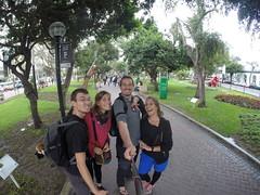 Photo de 14h - Parc Kennedy (Lima, Pérou) - 17.06.2014
