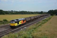 60047 6E38 Colnbrook - Lindsey passes Harrowden Junction 10.07.2015 (pokeyphoto) Tags: colas class60 60047 harrowdenjunction colasrailfreight