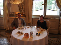 Lunch at Le Meurice by Alain Ducasse, 3 stars in The Michelin Guide!