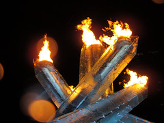 Olympic Cauldron 2010 (ROCKINRODDY93) Tags: torchrelay olympictorch 2010vancouverolympics 2010olympictorchrelay